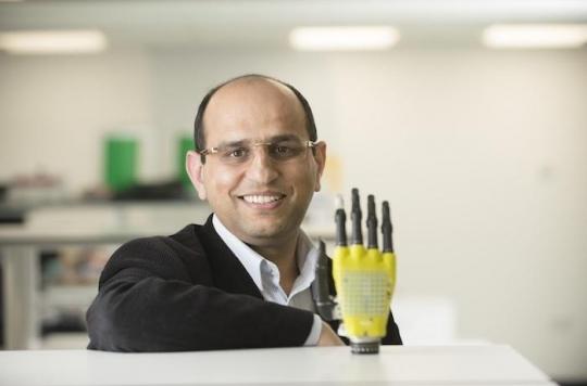 Prothèse de main : une peau artificielle sensible à l'énergie solaire