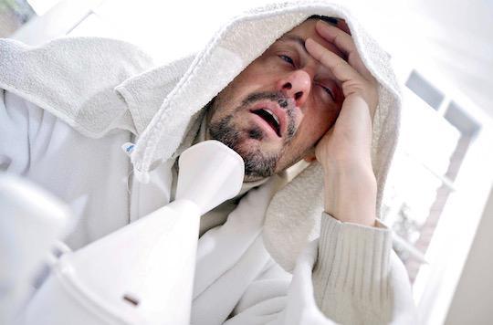 Rhume : se sentir en mauvaise santé peut prédire un risque