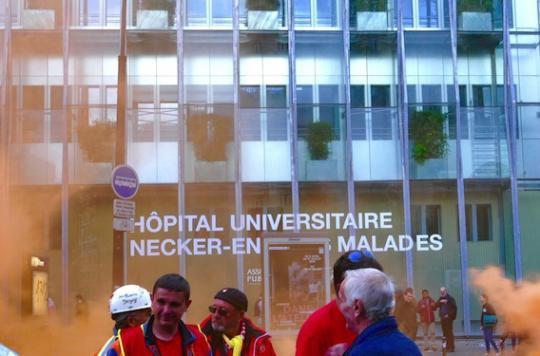 Dégradations à l'hôpital Necker : indignation des acteurs de la santé