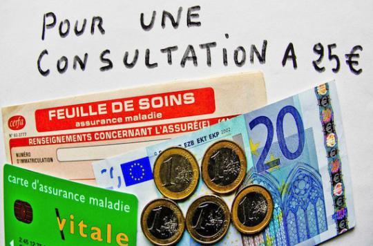 Consultation : les généralistes comptent augmenter leur tarif