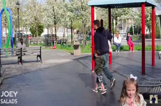 Une vidéo pour alerter sur les enlèvements d'enfants