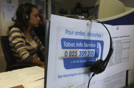 Tabac Info Service : efficace pour 22 % des fumeurs après 6 mois