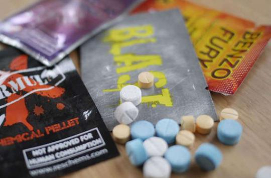 Drogues de synthèse : plus de 450 nouveaux produits en Europe