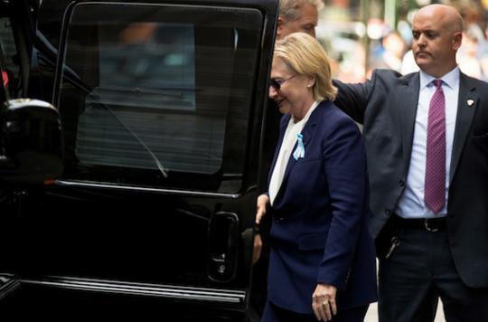 Hillary Clinton : les suites de sa pneumonie