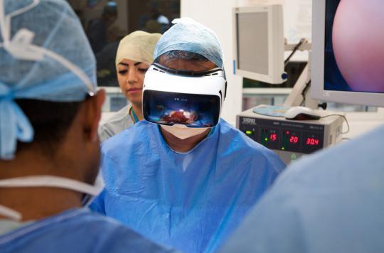 Une opération en 3D retransmise dans le monde entier