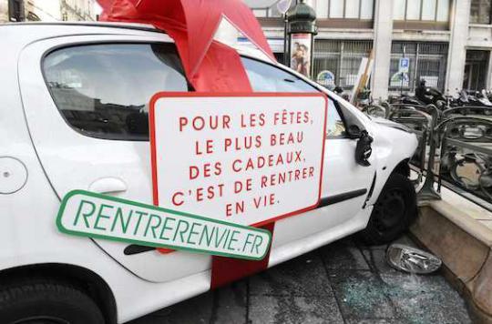 Alcool et réveillon : un Français sur deux n'a pas prévu le retour