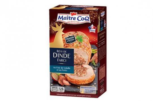 Auchan rappelle des rôtis de dinde farcis — Etiquetage alimentaire