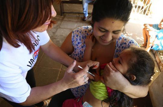 Rougeole : le continent américain a éradiqué la maladie