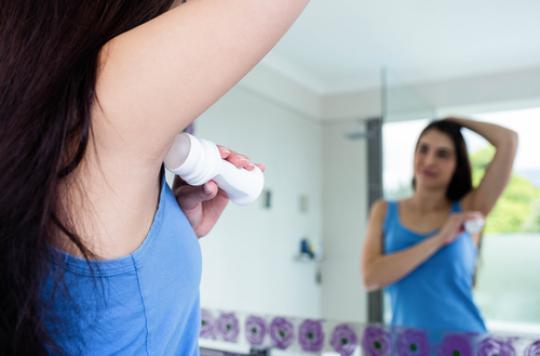 Cancer du sein : l'avis de l'ANSM sur l'aluminium dans les déodorants