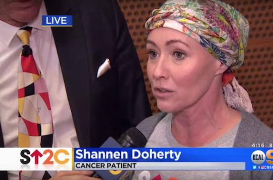 Cancer du sein : Shannen Doherty apporte son soutien à la recherche