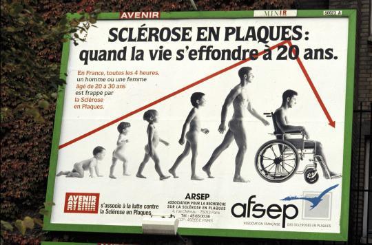 Sclérose en plaques : le travail s'arrête 9 ans après le diagnostic