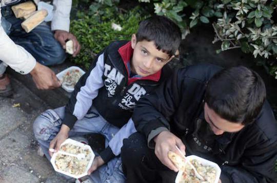 Calais : conditions de vie \