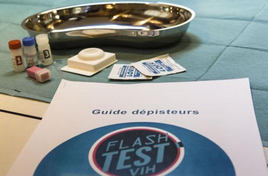 VIH : le nombre de tests \
