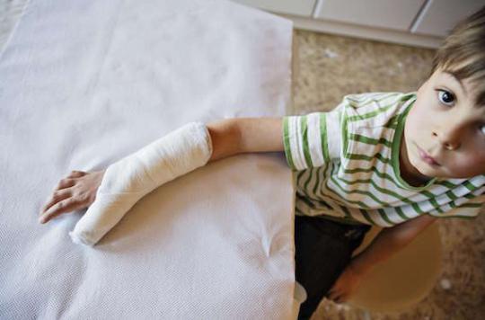 Accidents de la vie courante  : les enfants en surpoids sont plus à risques