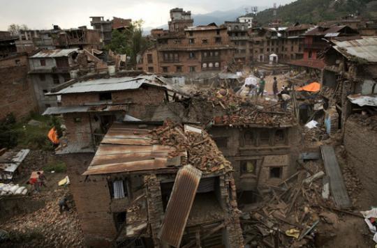 Séisme au Népal : \