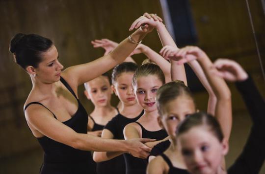 Les cours de danse ne font pas assez bouger les petites filles