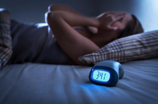 Les troubles du sommeil signalent une sensibilité au stress