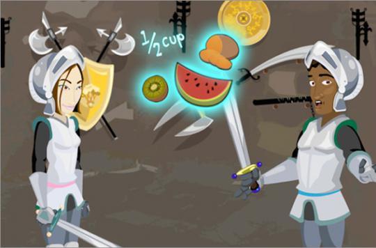 Un serious game pour manger 5 fruits et légumes par jour