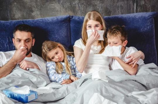 Sondage: les virus ont attaqué 1 Français sur 5  en fin d'année 2017