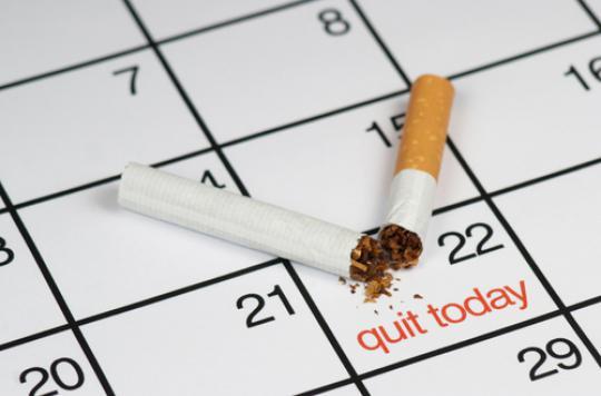 Sevrage tabagique : un mois pour relever le défi