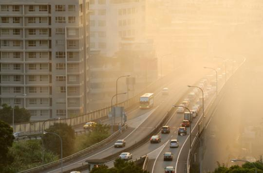 AVC : un sur dix serait attribuable à la pollution de l'air