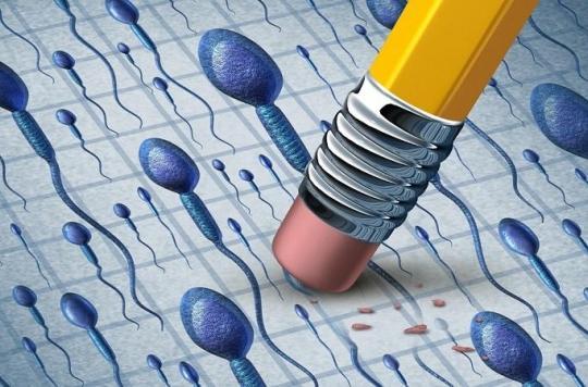 Le sperme : pas assez et de mauvaise qualité !