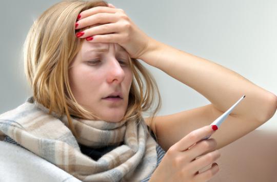 Grippe : 21 régions dans le rouge