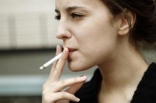 Tabac : la mortalité a bondi chez les femmes