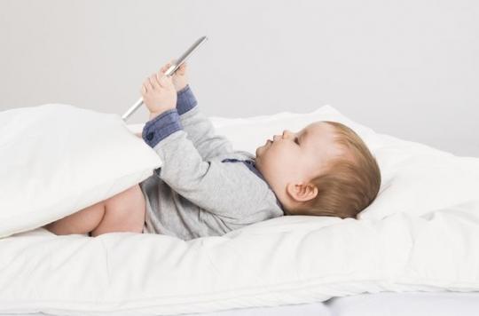 Sommeil: les écrans mauvais pour les bébés