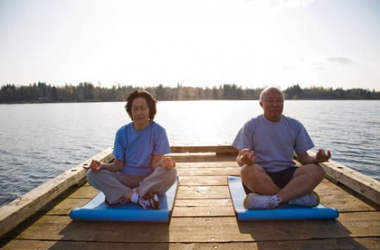 Seniors : la méditation pour lutter contre le vieillissement