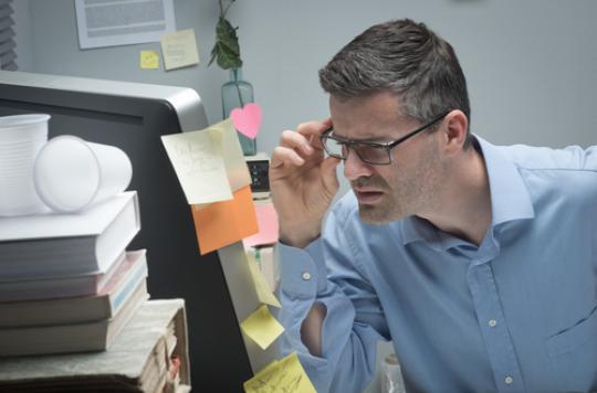 Vision : 9 salariés sur 10 ont des problèmes après 50 ans