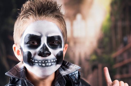 Halloween : des substances toxiques dans le maquillage pour enfants