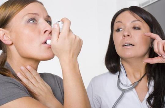 Asthme : les femmes en souffrent deux fois plus que les hommes