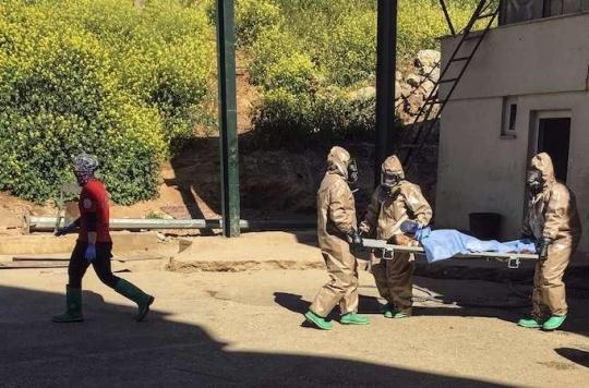 Syrie : l'usage du gaz sarin est \