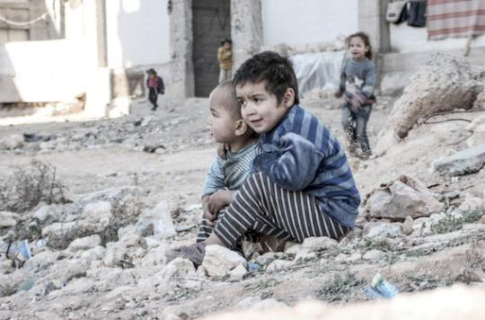 Syrie : un enfant sur trois n'a jamais connu la paix