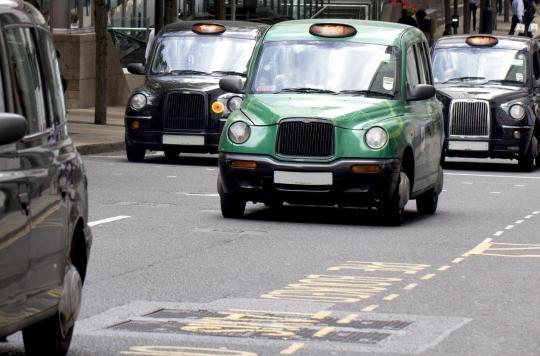 Pollution aux particules : les taxis de Londres fortement exposés