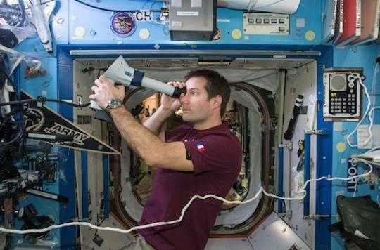 Espace : la température corporelle des astronautes augmente quand ils voyagent