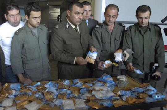Les terroristes soupçonnés d'avoir agi sous Captagon
