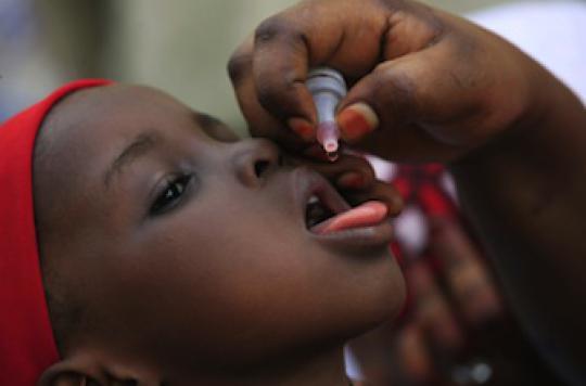 Polio : Le Nigéria se débarrasse du virus