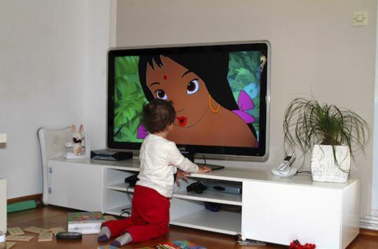 Trois quarts des petits Français ont un écran personnel