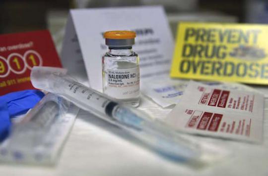 Overdoses : l'accès à la Naloxone est élargi