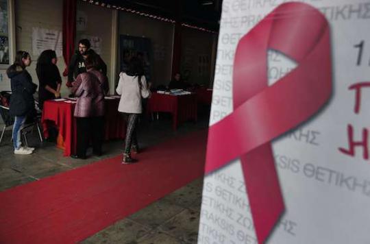 VIH : les contaminations ont flambé en 2014