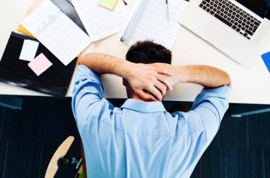 Stress au travail : une bonne forme physique aide à résister