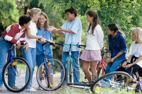 Les adolescents d'aujourd'hui plus heureux que ceux d'hier