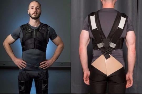 Des sous-vêtements intelligents préviennent le mal de dos
