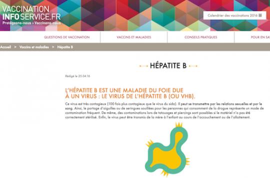 Vaccination Info Service : un site pour s'informer en toute transparence