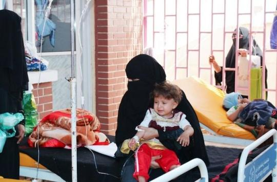 Yémen : le nombre de cas de choléra a doublé