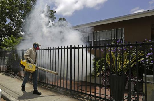 Zika : les femmes enceintes doivent éviter un quartier de Miami