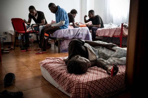 Migrants : les ados victimes de maltraitance