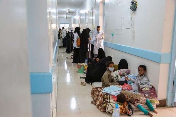 Yemen: l'épidémie de choléra amorce un recul
